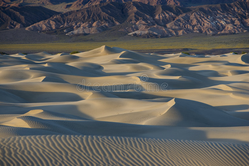 дюны смерти зашкурят долину стоковые изображения rf