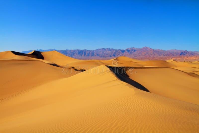 дюны смерти california зашкурят долину стоковые изображения rf