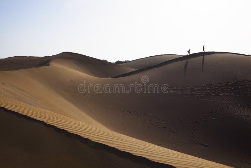 Дюны Maspalomas стоковые изображения