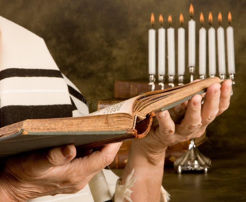 еврейская молитва стоковая фотография rf
