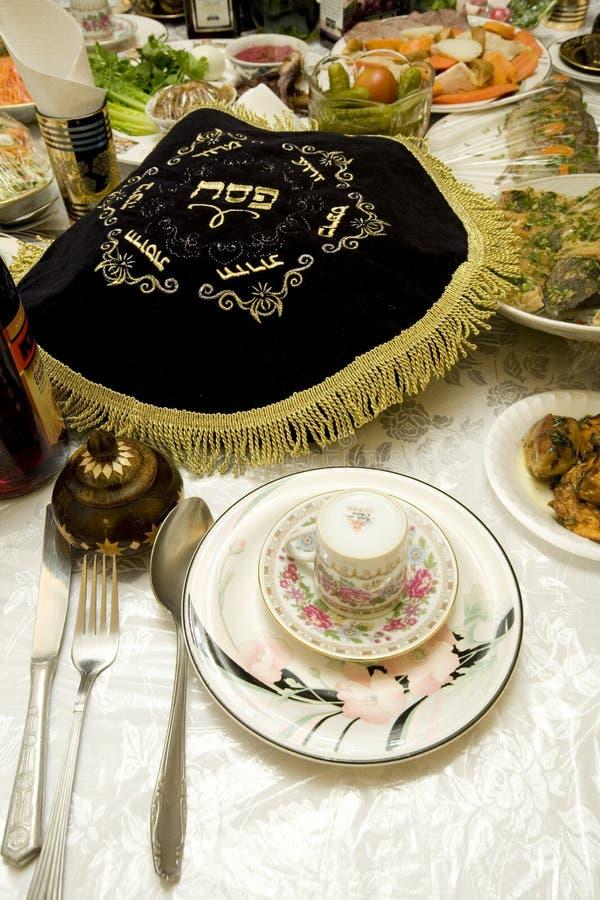 еврейская пасха bukharian ceder еврейская стоковое изображение rf