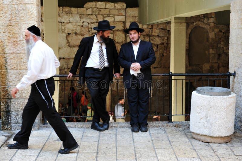 Еврейская четверть в Иерусалиме Израиле стоковое фото rf
