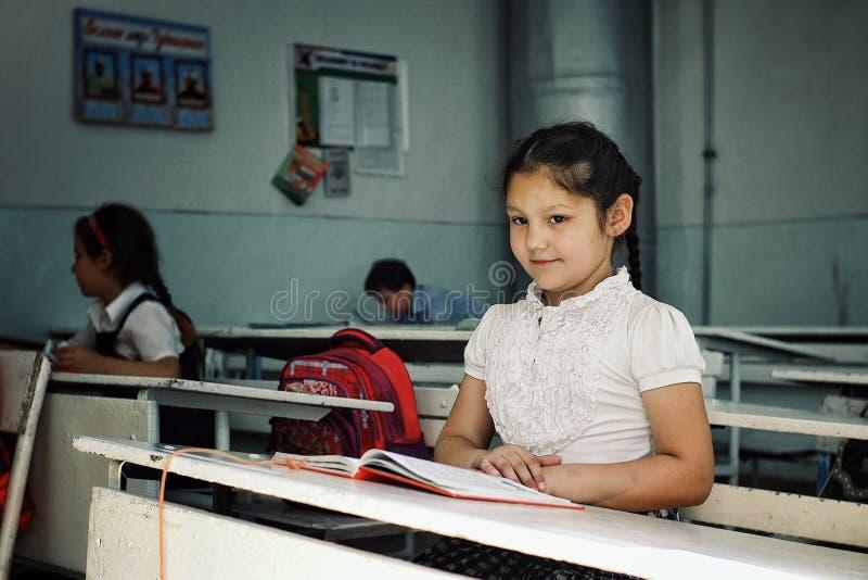 Еврейские дети в школе живут в мире в главным образом мусульманской стране стоковое изображение