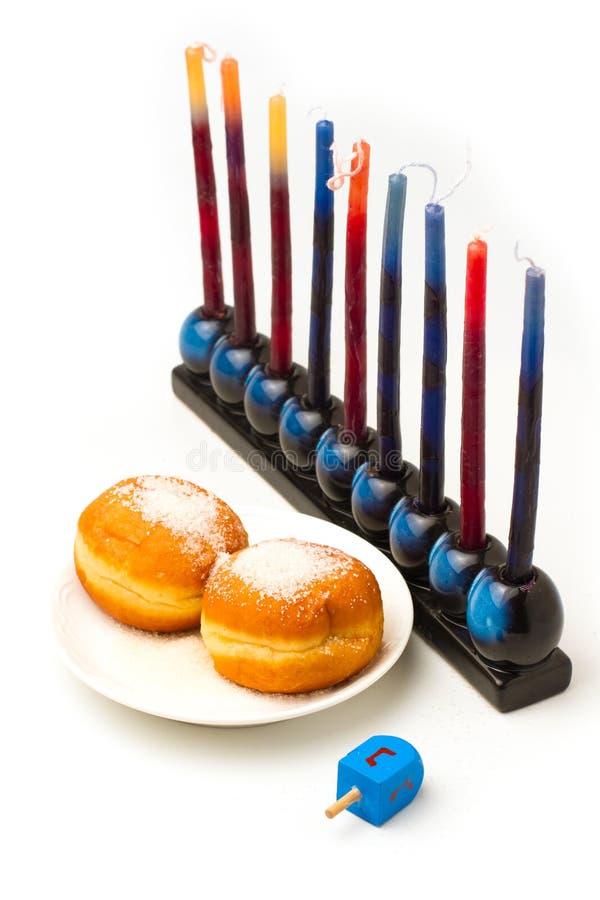 Еврейские символы Hanukkah праздника
