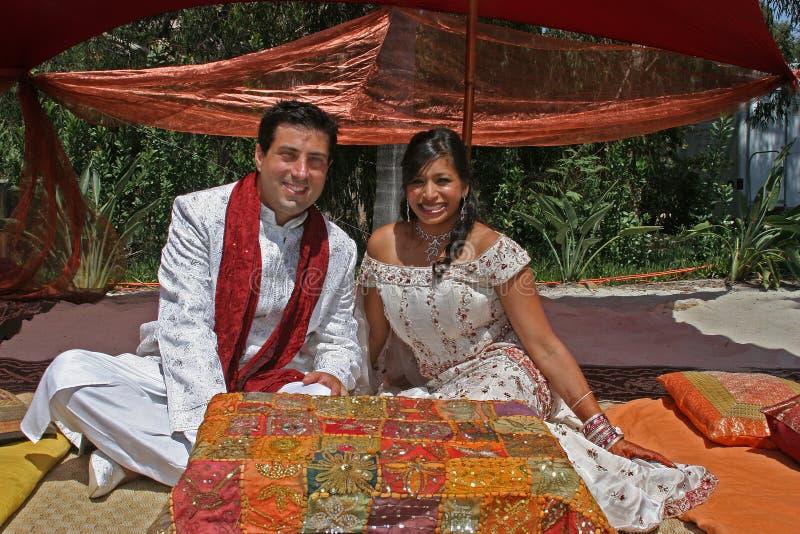 еврейское мусульманское венчание стоковая фотография rf