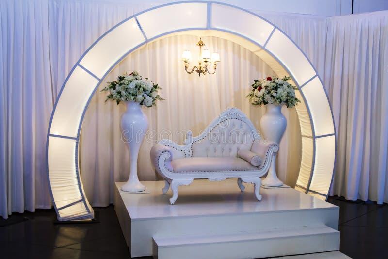 Еврейское Hupa, свадьба на открытом воздухе стоковая фотография