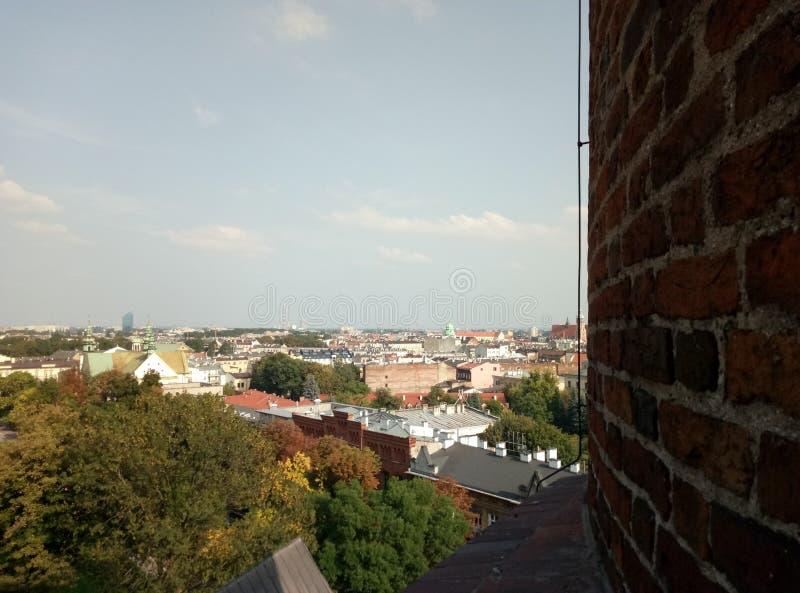Европа, архитектура, город, старые здания, Краков стоковое фото rf