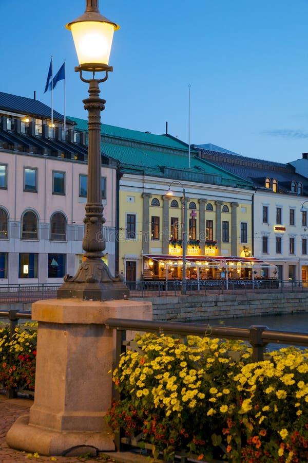 Европа, Скандинавия, Швеция, Гётеборг, ресторан на Sodra Hamng стоковое изображение