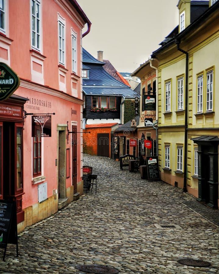 европейская улица стоковые изображения