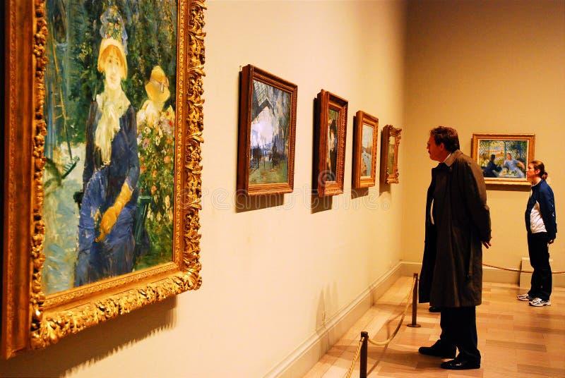 Европейские мастеры, институт искусства Чикаго стоковая фотография