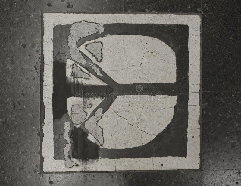 Европейские столицы Метро Стокгольма Украшение пола стоковое изображение