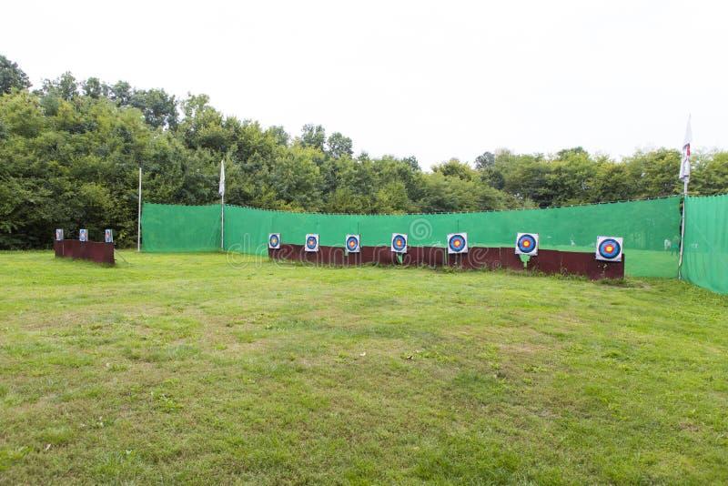 Европейские чемпионаты Archery молодости стоковые фото