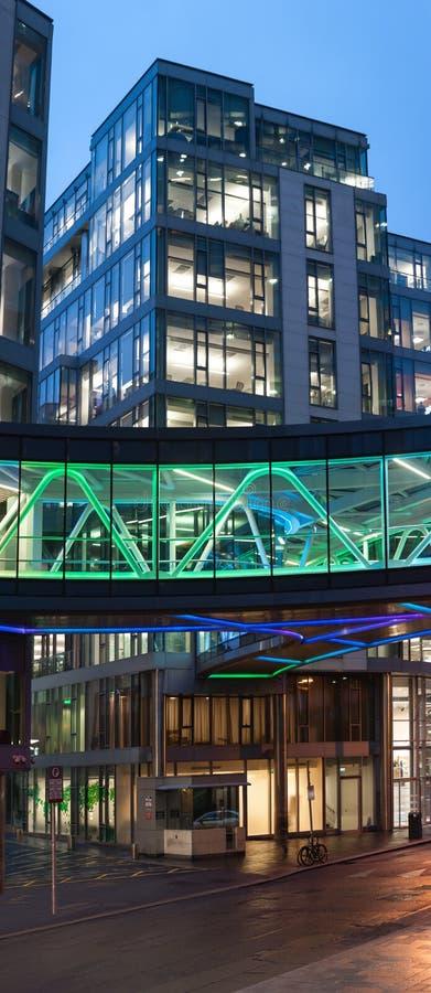 Европейские штабы Google в Дублине стоковые фото