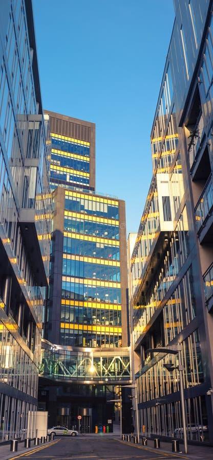 Европейские штабы Google на улице кургана в Дублине, стоковые изображения rf