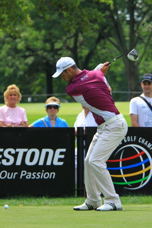 Европейский игрок в гольф Мартин Kaymer стоковое изображение