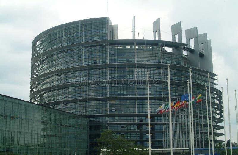 Европейский парламент стоковое изображение rf