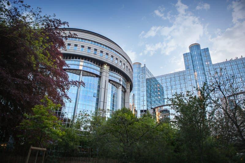 Европейский парламент - Брюссель, Бельгия стоковые изображения