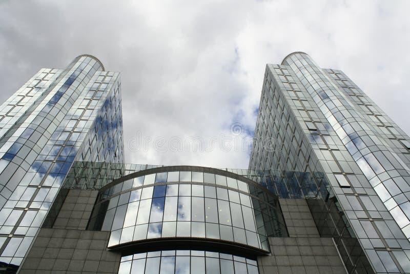 Европейский парламент стоковые изображения