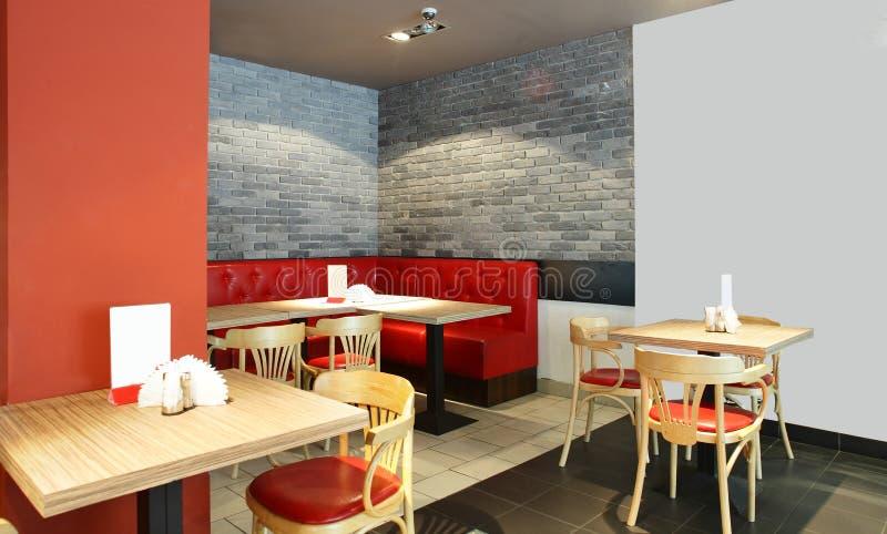 Download Европейский ресторан в ярких цветах Стоковое Фото - изображение насчитывающей клуб, мебель: 40575232