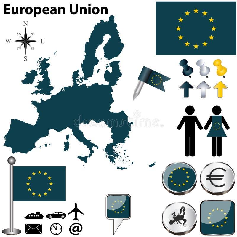 Европейский союз иллюстрация штока