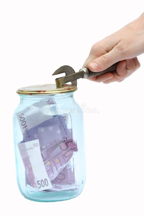 евро банка стоковые изображения rf