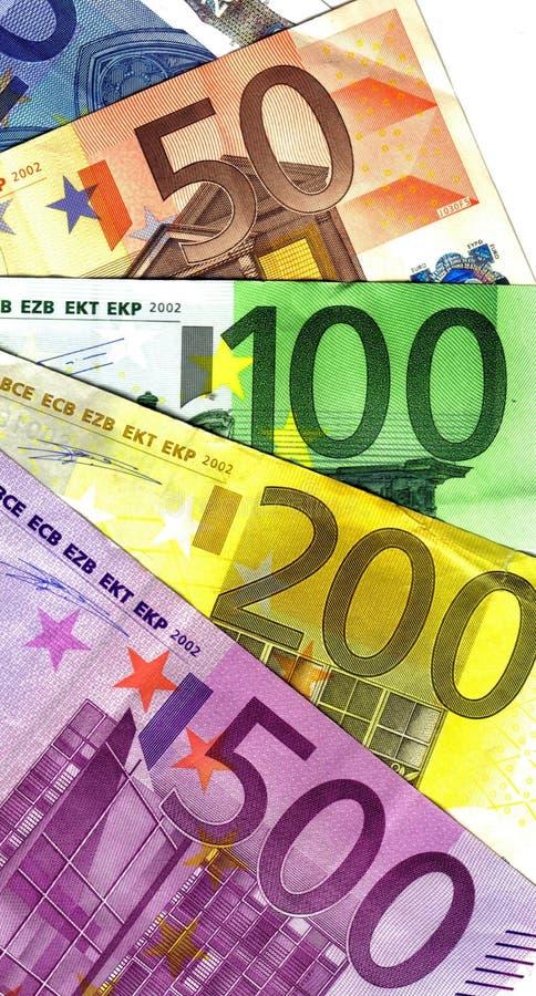 евро важные большая часть стоковая фотография