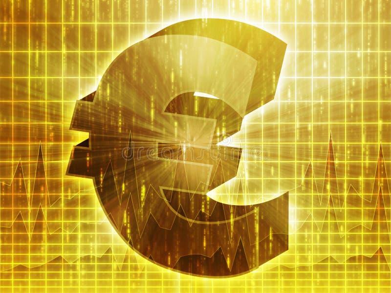 евро валюты диаграммы бесплатная иллюстрация