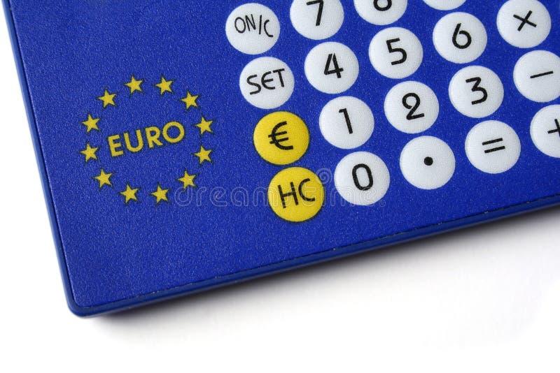 евро валюты конвертера стоковые фотографии rf