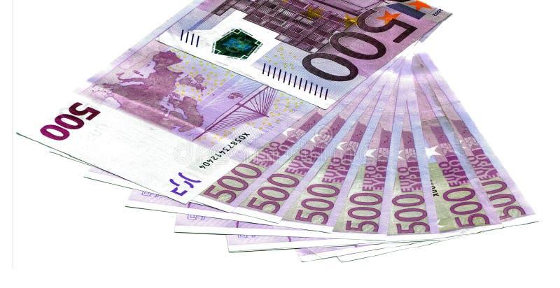 евро замечает отражение 2 стоковые фото