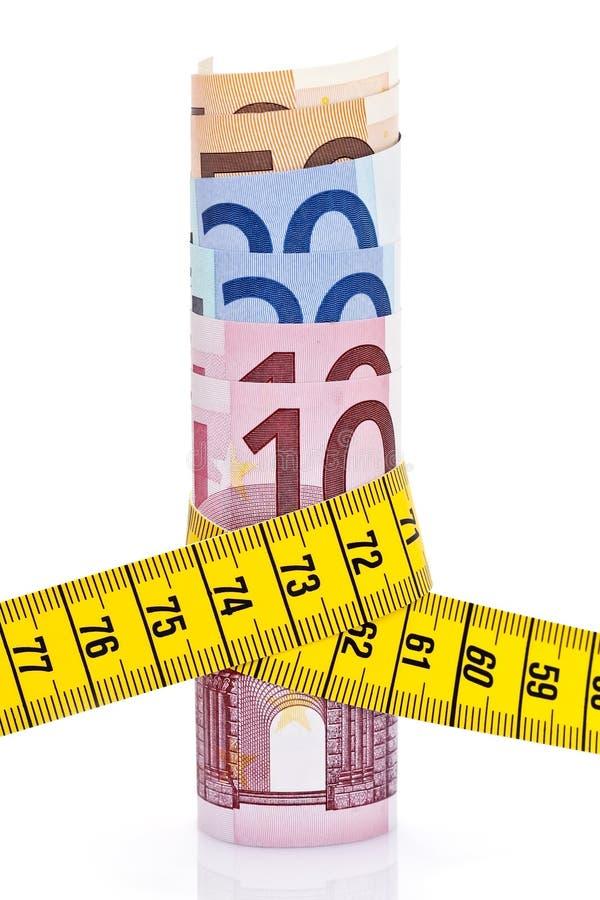 евро измеряют ленту стоковые изображения rf