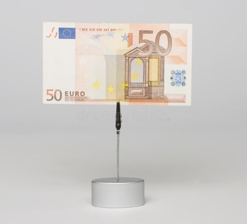 евро кредитки стоковое изображение