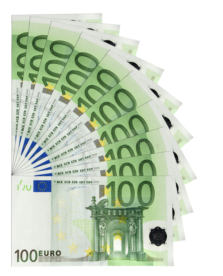 евро кредиток иллюстрация штока