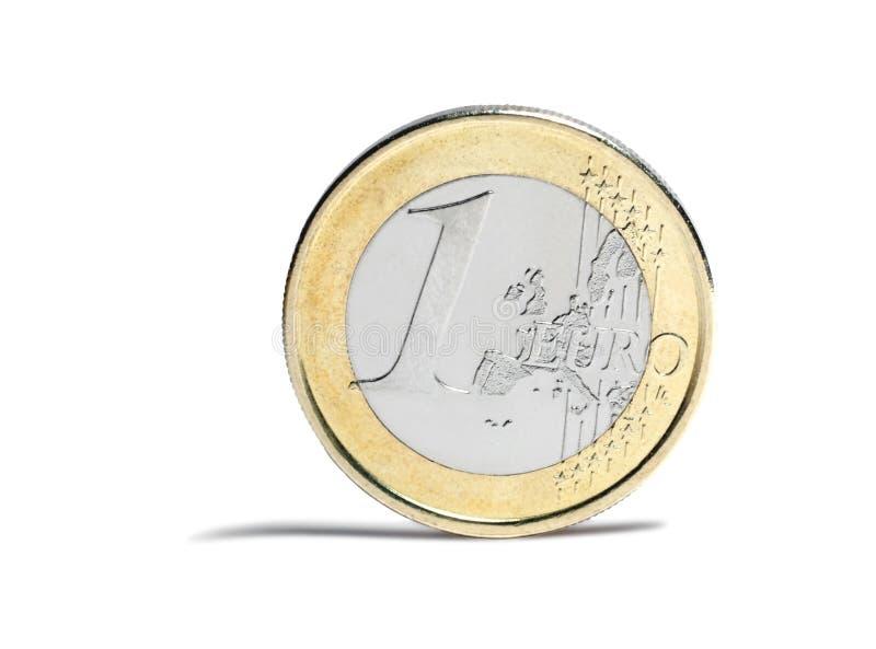 евро монетки стоковое фото