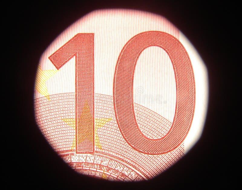 евро 10 стоковые изображения