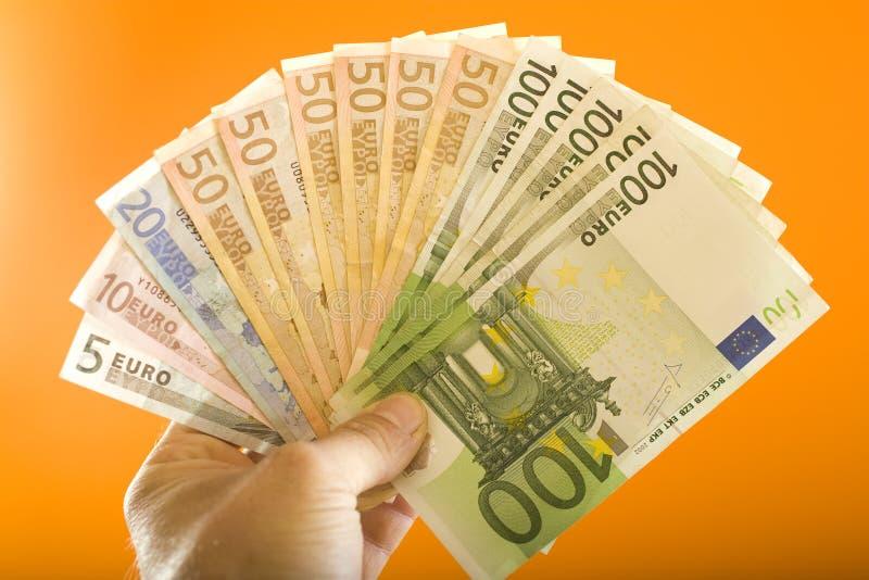 евро стоковое фото rf