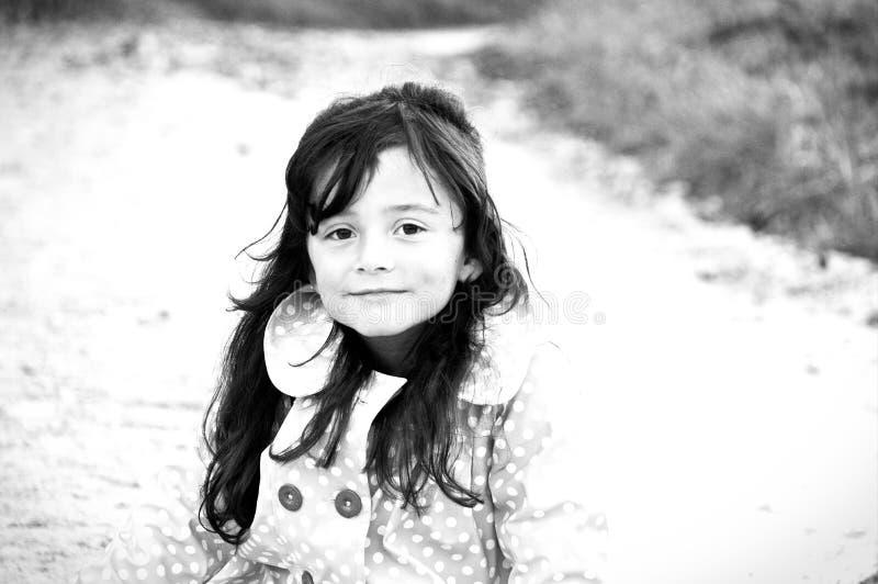 девушка меньший портрет стоковые изображения