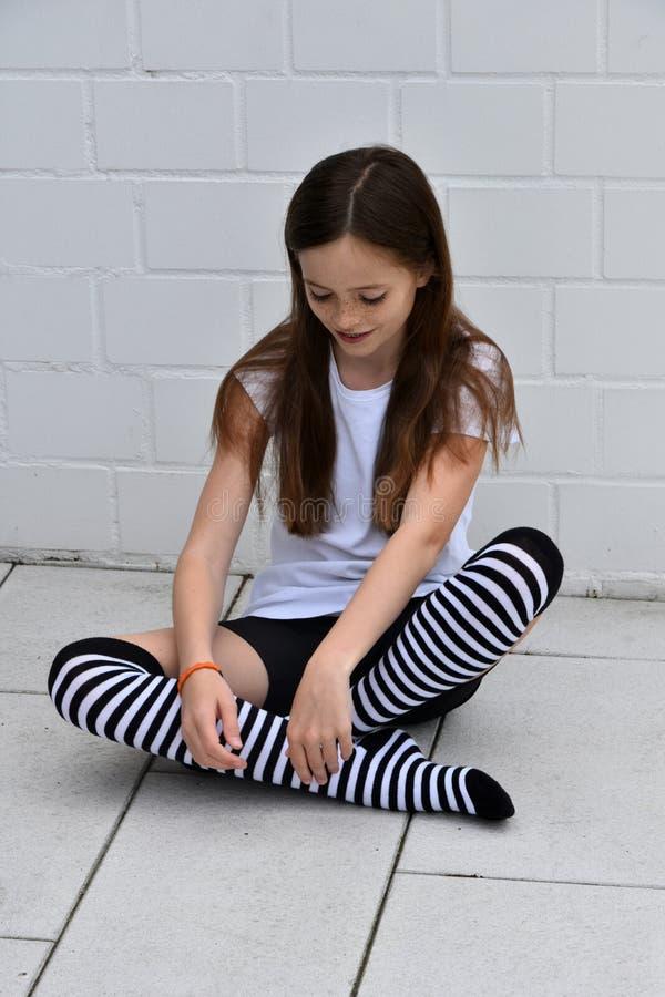 девушка подростковая стоковые изображения rf