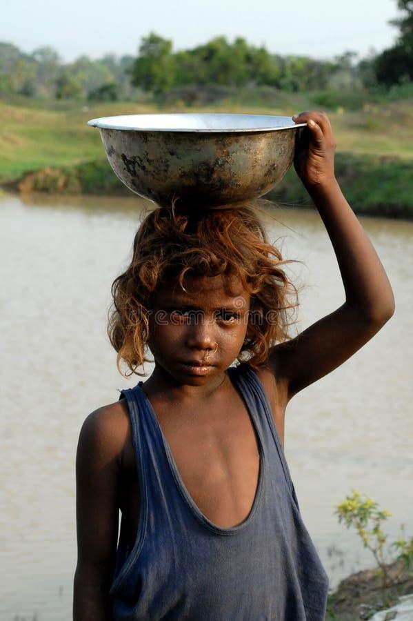 девушка сельская стоковая фотография