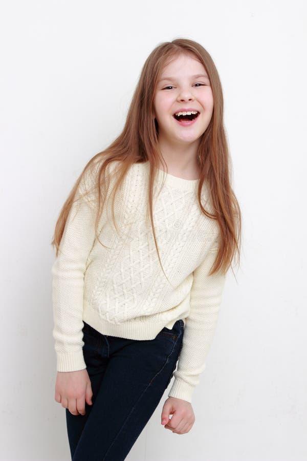 девушка счастливая немногая стоковые изображения rf