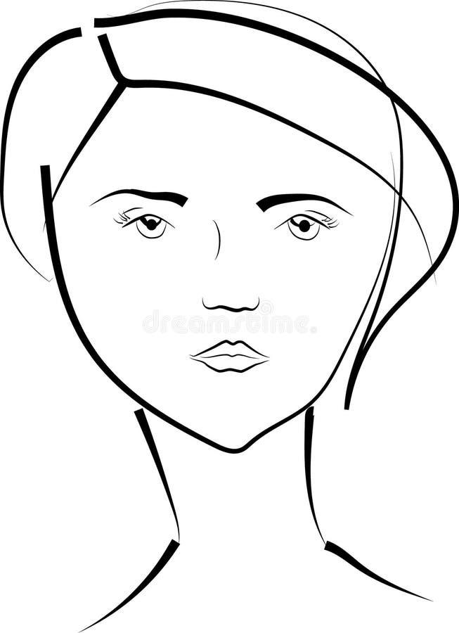 девушка бесплатная иллюстрация