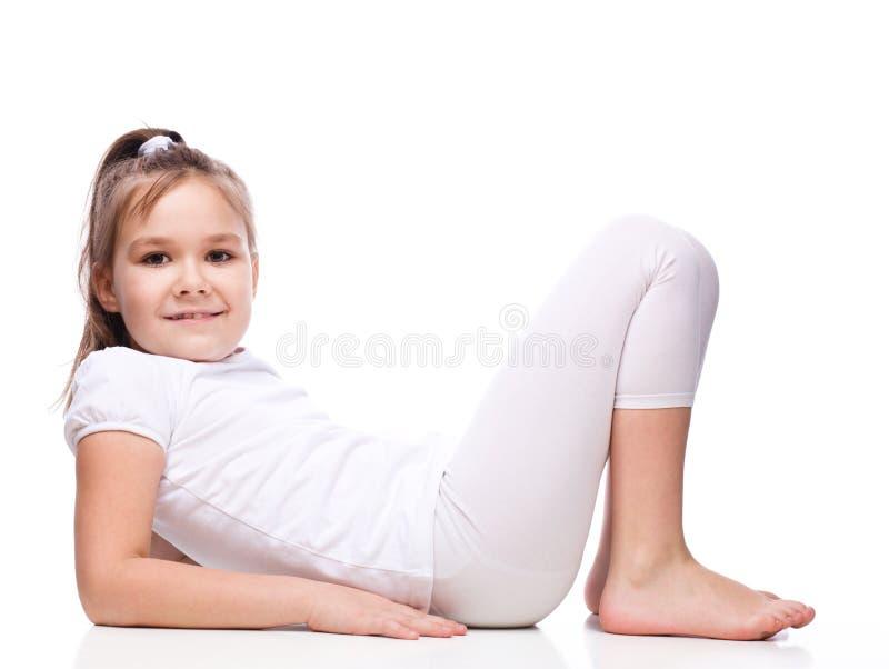 девушка sporty стоковые изображения