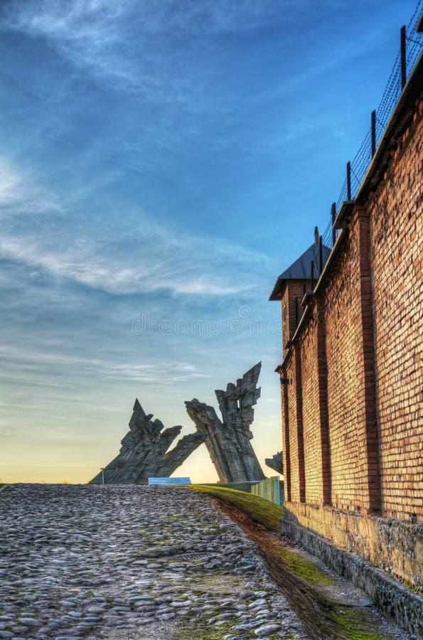 девятый мемориал форта стоковое изображение