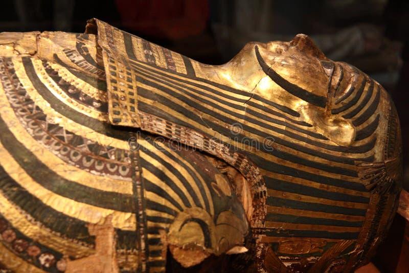 египетская мумия стоковое изображение rf