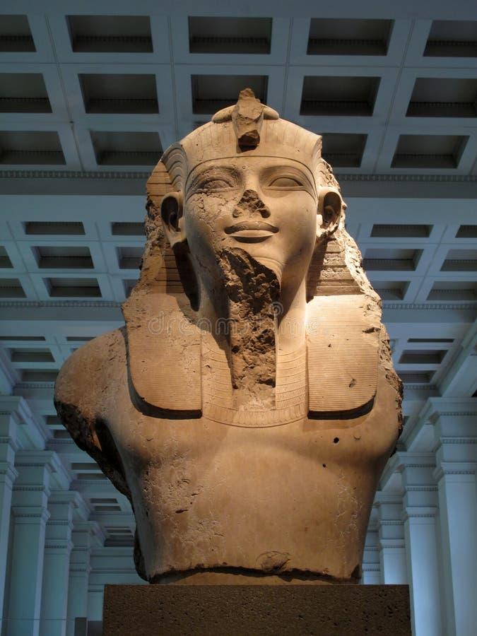 Египетская скульптура стоковые изображения rf