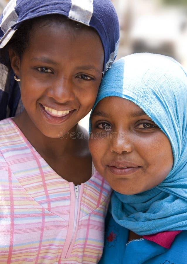 египетские девушки стоковое изображение rf