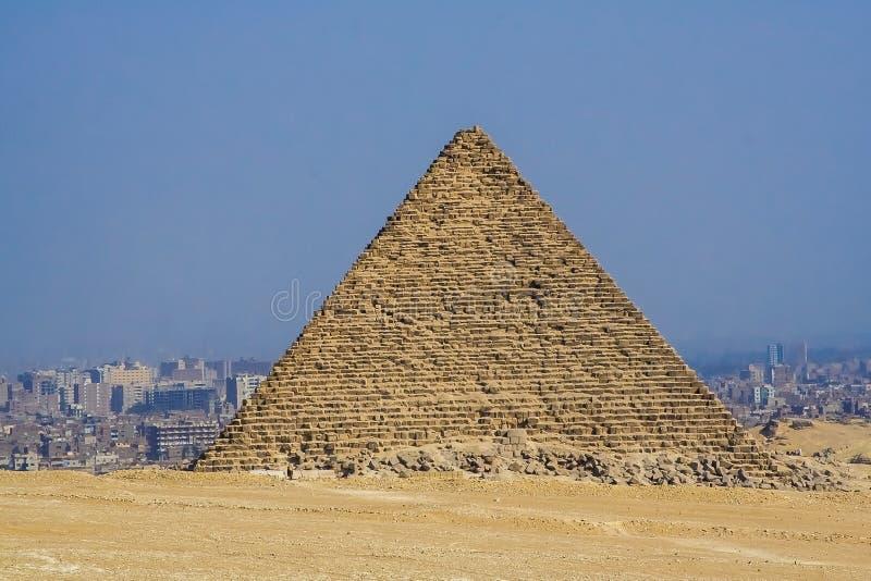 Египетские пирамиды, памятники гуманности стоковое изображение rf