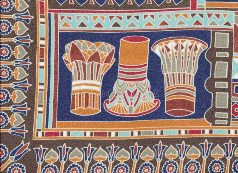 Египетские столицы стоковая фотография rf
