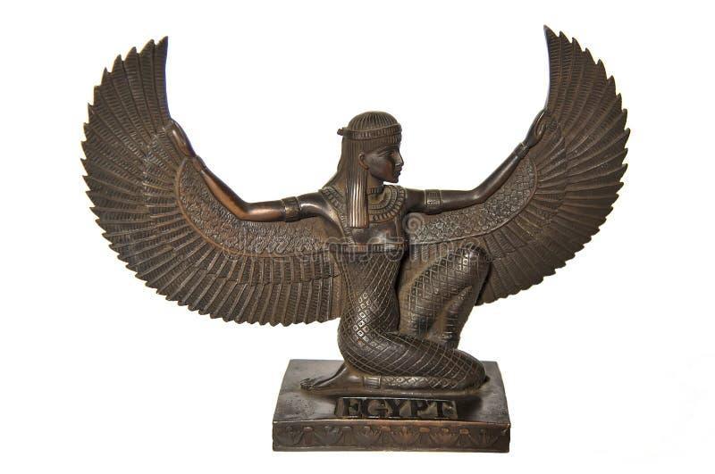 египетский isis богини стоковые изображения rf