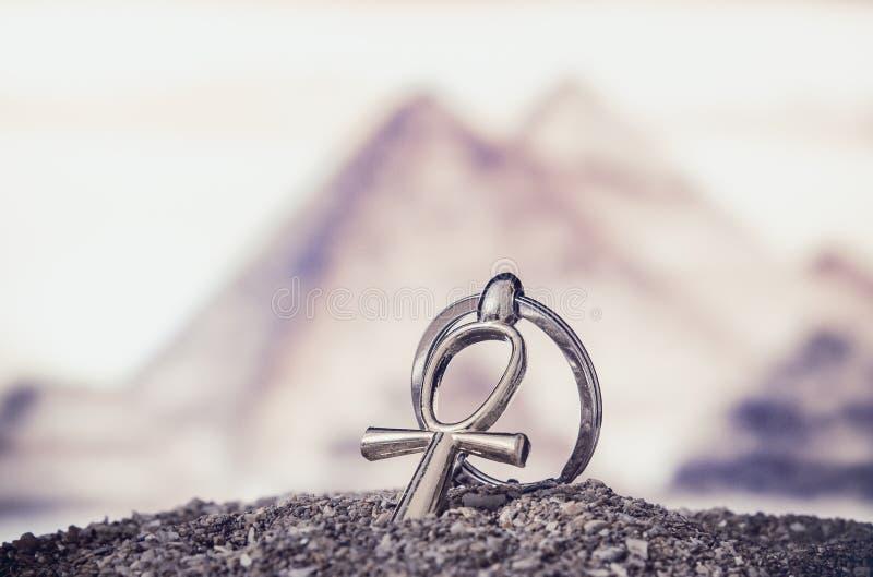 Египетское перекрестное Ankh стоковые изображения