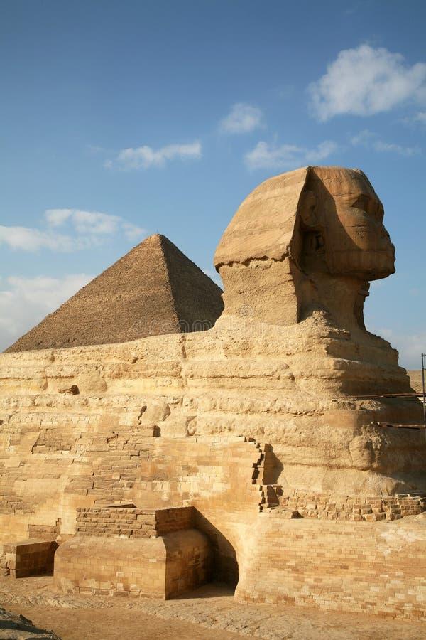 Египет, Гиза, пирамиды стоковое изображение
